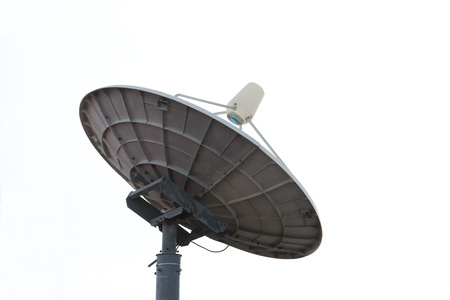 sattelite: Tigers modern science satellite signals , White background