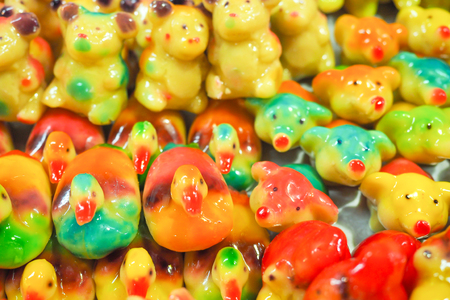 Look-Choup is a Thai dessert that have been made for many hundreds years, asian food Stock fotó