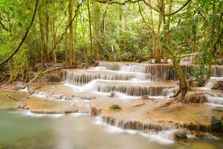 khamin:  Huay Mae Khamin Waterfall is so beautiful in Thailand. It is Huay Mae Khamin National Park, Kanchanaburi Province, Thailand.