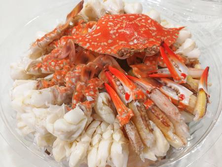 Sculling crab or steam crab leg - seafood Thai
