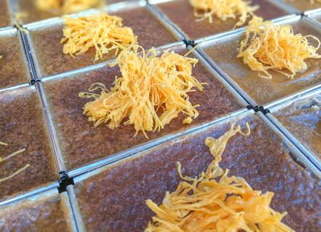 Variety of Thai Custard Dessert Recipe (Khanom Maw Kaeng)