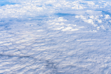 Sky and Cloud atmosphere in Abstract background Stock Photo