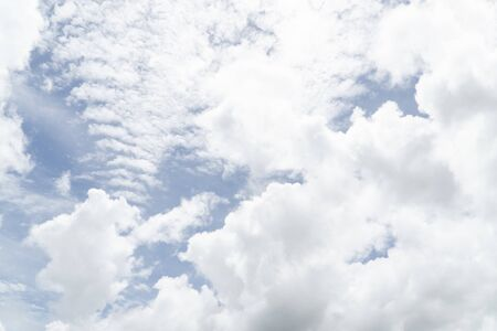 Sky and Cloud on the Natural background 写真素材