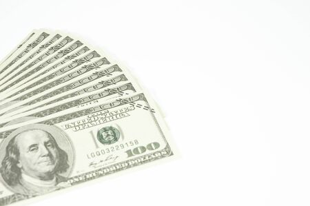 Foreign currency, bitcoin, money, on a white background