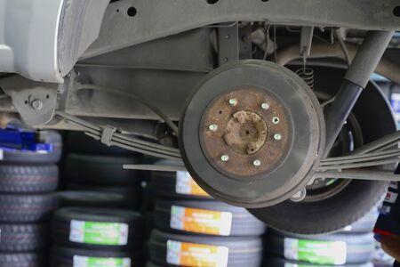 Grinded Disc Break, Automotive Maintenance Service