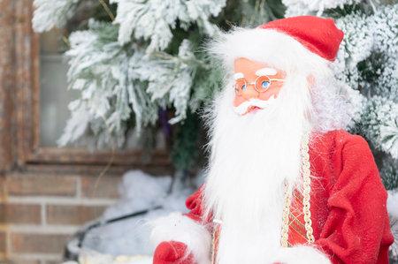 Santa Plush Toy Santa Traditional Winter Holiday Celebration