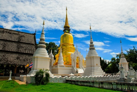 Wat Suan Dok In Chiangmai  photo