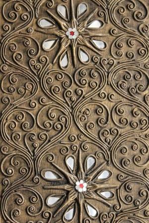 antiek behang: Thailand patroon stijl