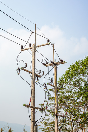 isolators: High voltage pole