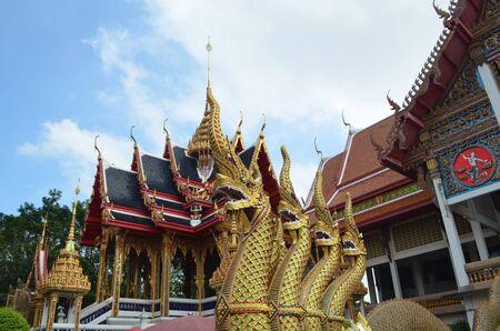 nang: wat nang sao temple in samut sakorn,thailand