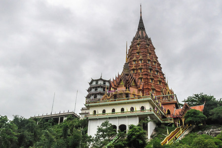 sua: The pagoda of Wat Tham Sua  The pagoda of Wat Tham Sua Tiger Cave Temple in Thailand