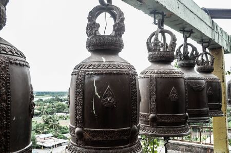 kanchanaburi: Bell  Bell with a beautiful in kanchanaburi of thailandBell  Bell with a beautiful in kanchanaburi of thailand