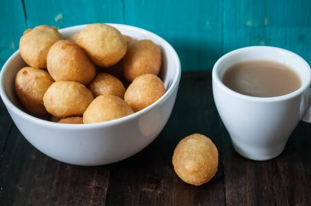 sweetmeat: coffee with sweetmeat Stock Photo