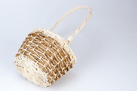 mimbre: cesta de mimbre