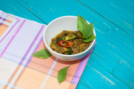 dinne: beef with spicy Thai food Stock Photo
