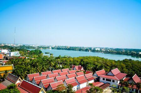 khon: Part of the landscape Khon Kaen. Thailand. Stock Photo