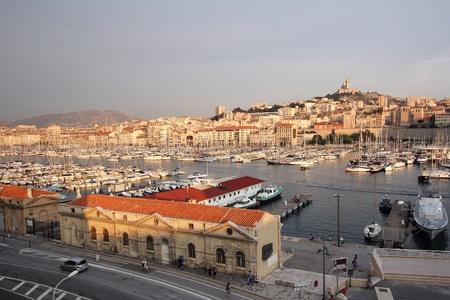 marseille: Marseille Panorama Stockfoto
