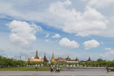 kaew: Wat Phra Kaew Temple of the Emerald Buddha Stock Photo