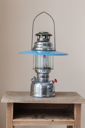 inflammable: Antique Hurricane Lamps for show. Stock Photo