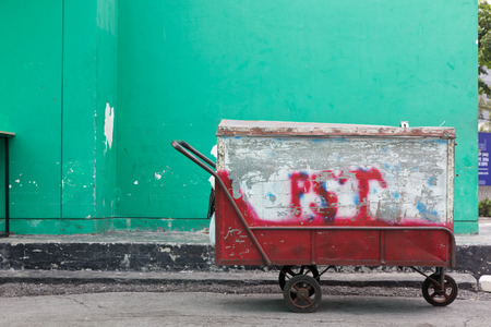 carting: Thai wheelbarrow tricycle for general purpose use.