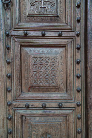neo classical: Detail of an ancient ottoman door