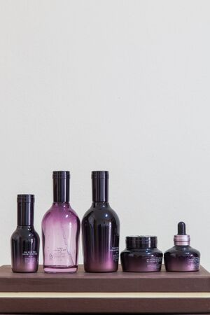 dispense: cosmetic bottles