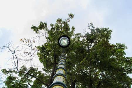 archaeologist: lantern at Wat Pho Bangkok Thailand