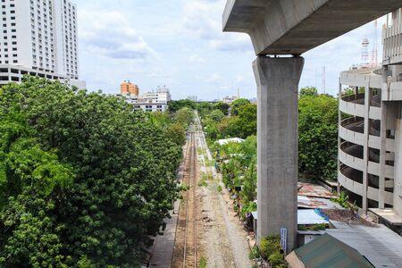 sleeper: Railway sleeper in Bangkok Thailand