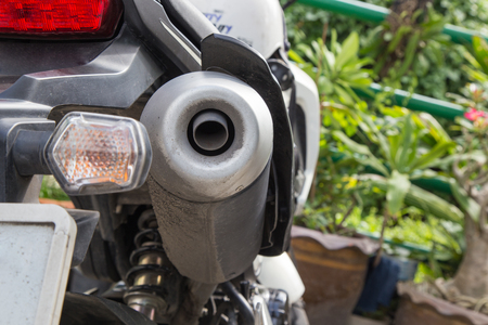 exhaust: Motorcycle exhaust pipes