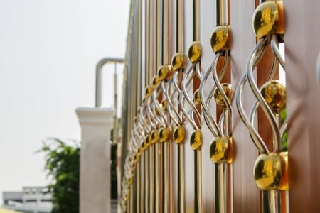 metal handrail: Stainless steel fence