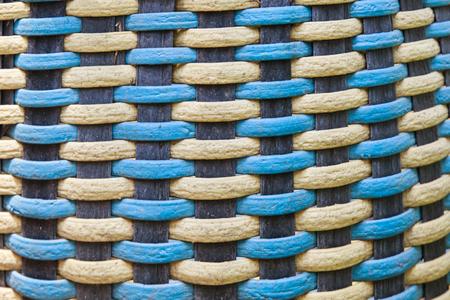 Texture of plastic weave