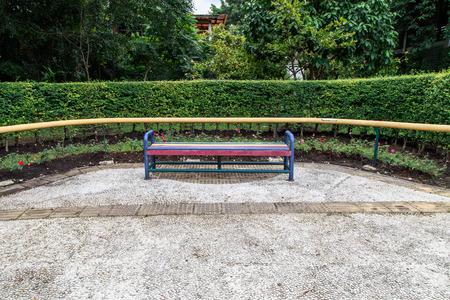 sirikit: bench in the Queen Sirikit Park, Bangkok