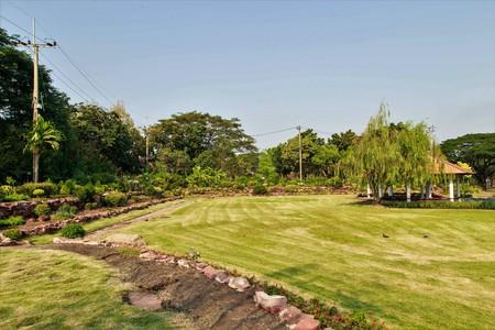 Outdoor landscape at public park, Suan Luang RAMA IX Thailand.
