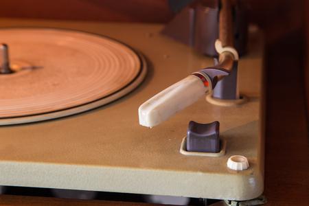 Old Turntable Standard-Bild