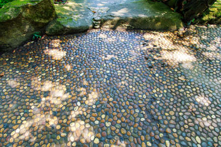 cobble: Cobble stone street, natural background.