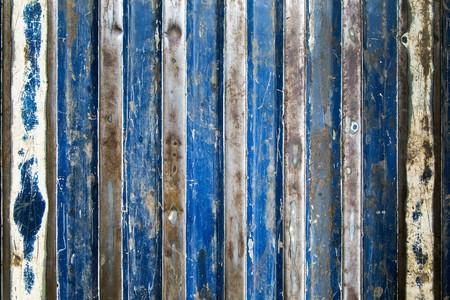 rust blue stripes textured pattern Standard-Bild