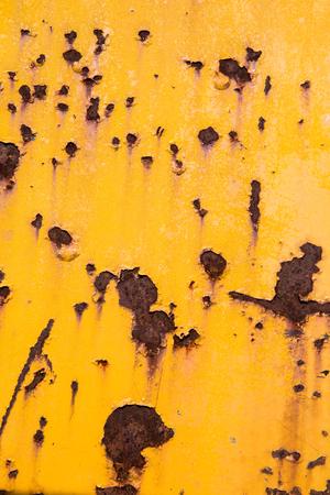 Texture of Zinc galvanized iron roof plate background pattern Standard-Bild