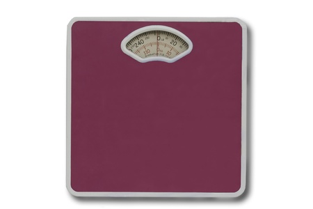 weight scale isolated  photo