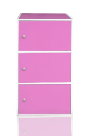 pink cabinet  photo