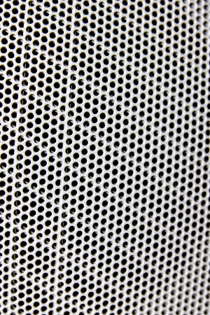 seamless circle perforate. photo