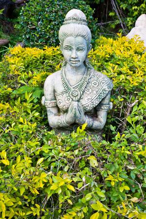 thai style: Statue Hello thai style