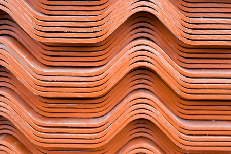 Red roof tiles  photo