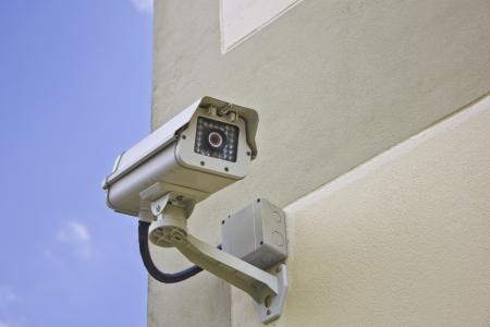 CCTV ?berwachungskamera Standard-Bild - 22254170