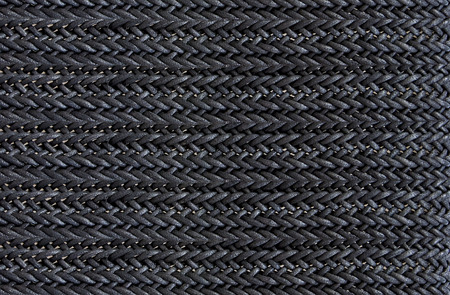 Detailed of black rope  Stock Photo