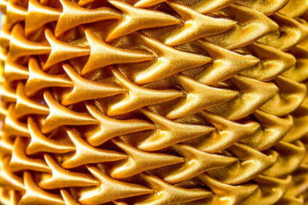gold curtain texture background  photo