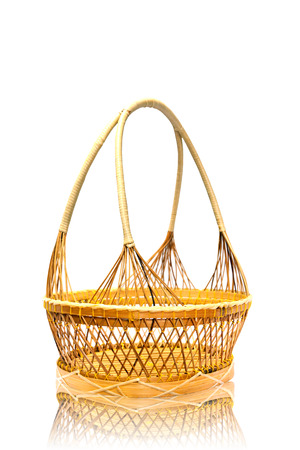 wood basket  photo