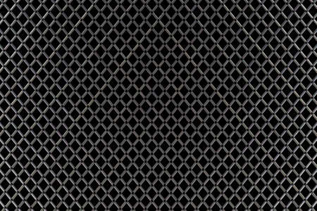 Seamless black and white geometric netting pattern photo