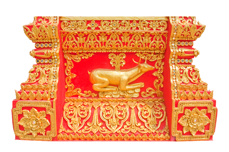 thai art design stucco  photo