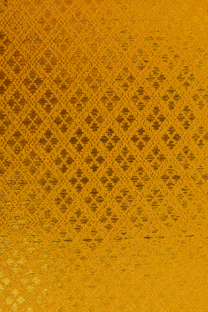 Golden textile  photo