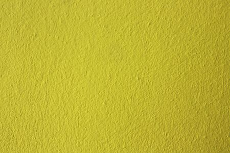 paint texture: yellow concrete wall on the balcony Stock Photo
